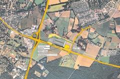 Emsland-Arena - Planung der Stadt