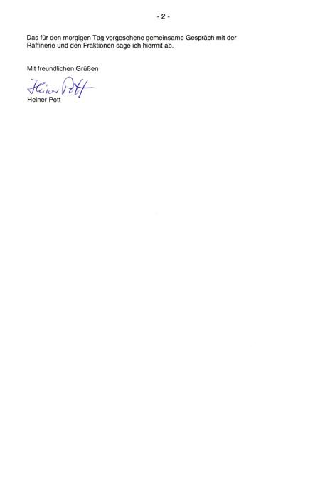 Absage an den Bürgerverein Seite 2