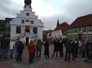 Lingen (Ems), Schweigekreis 11.03.2012