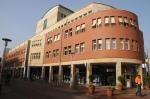 Rathaus Lingen mit Saubermacher