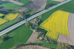Luftbild Landkreis Vechta