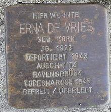 Friedenstraße_30_Erna_de_Vries