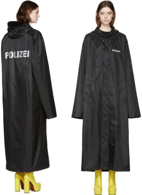 polizei-regenmatel