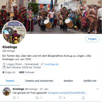 Kivelinge bei Twitter.com